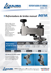 Mecanizado manual de bridas