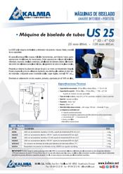 Máquina biseladora de tubo