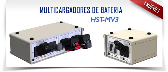 Multicargadores de baterías