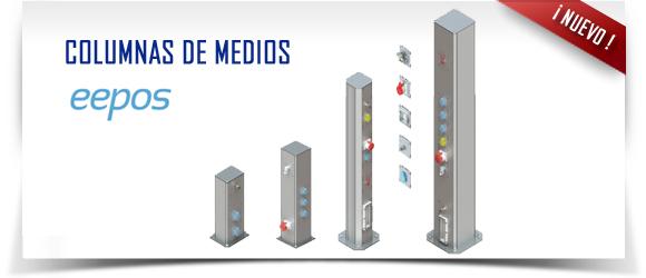 Columnas de medios de eepos